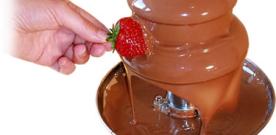 Anmeldelse: Chokoladefontæne er fantastisk!